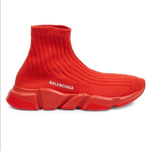 f5c751ddfd8 Men's Balenciaga Speed Rib Sock Trainers